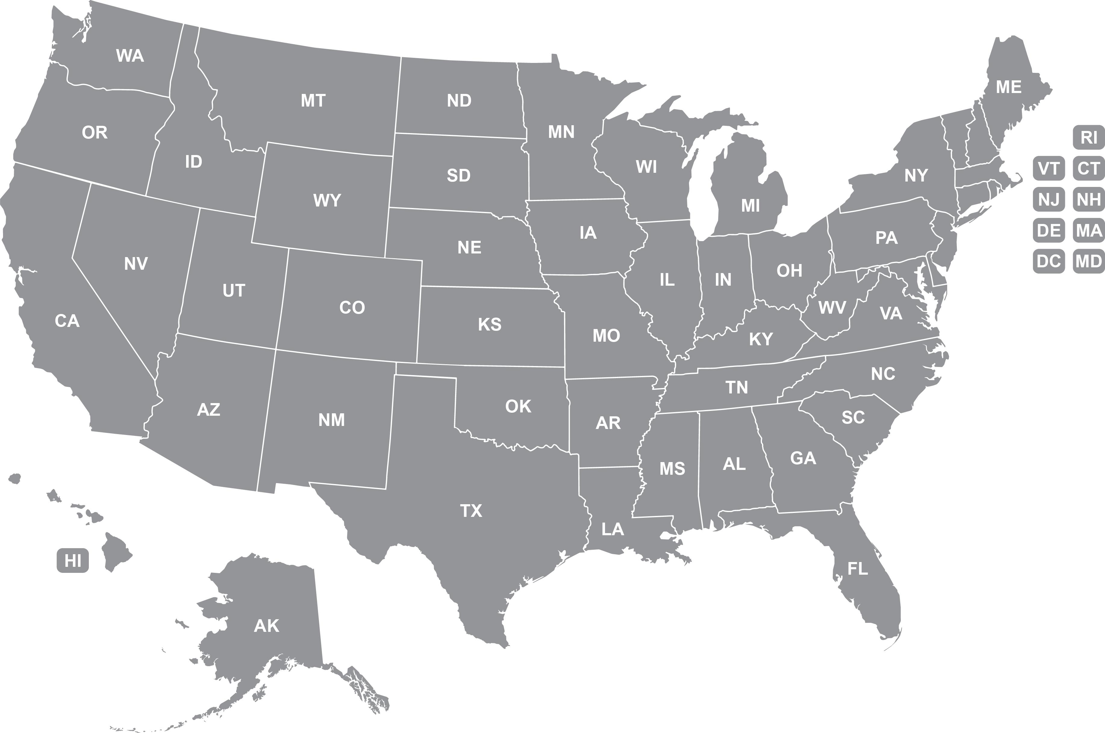 U.S. Map | ecom