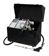 Combustion Flue Gas Emission Analysis Test